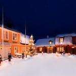 Wärdshuset Lasse Maja på vintern
