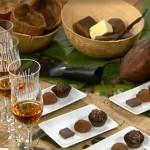 Chokladprovning på konferens