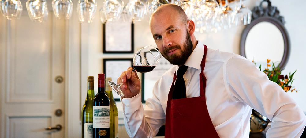 Bartender på Wärdshuset Lasse Maja
