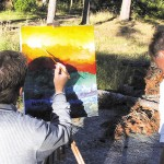 Konferensaktivitet med målning
